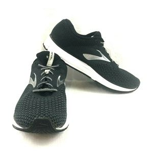 BROOKS Revel 2 Black White Silver Running Shoes